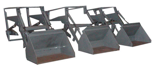 Погрузчик с ковшом (ПК-0,7)