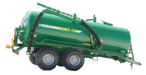 Машина для внесения жидких органических удобрений (МЖУ)