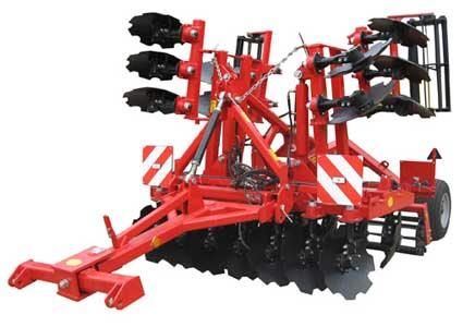 Агрегат почвообрабатывающий полунавесной  (АГМ-4,2)