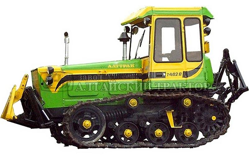 Трактор гусеничный (Т-402А)