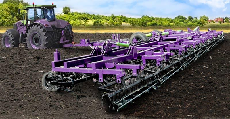 Культиватор сплошной обработки почвы (KUSTO)
