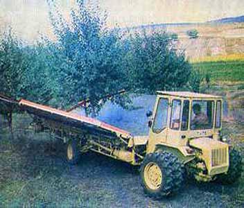 Комбайн для уборки плодов (МПУ-1А)