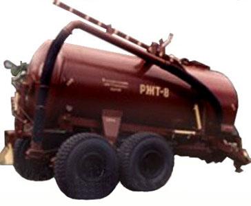 Машина для внесения жидких органических удобрений (РЖТ-8М)