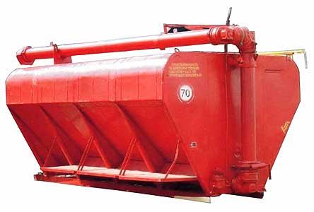 Загрузчик сухих кормов на базе автомобильных и тракторных шасси (ЗСК-Ф (ЗКП))