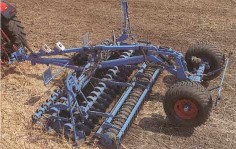 Агрегат дисковый почвообрабатывающий (Гелиодор)