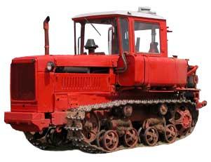 Трактор гусеничный (ДТ-75Е)