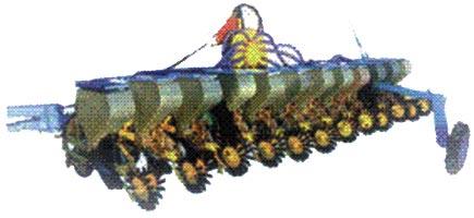 Сеялка пунктирная пневматическая (СТВ-12)