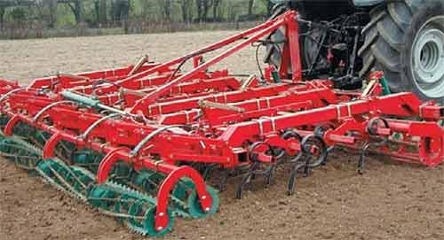 Культиватор для предпосевной обработки почвы (Kverneland TLG)