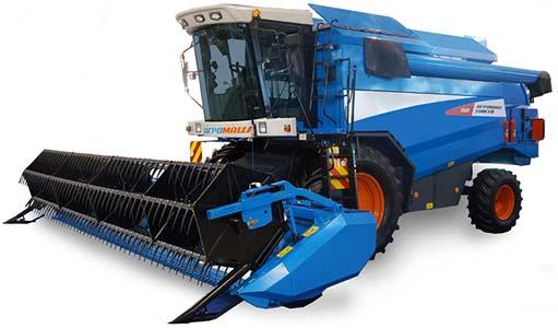 Комбайн зерноуборочный 5-го класса (Агромаш 5000)