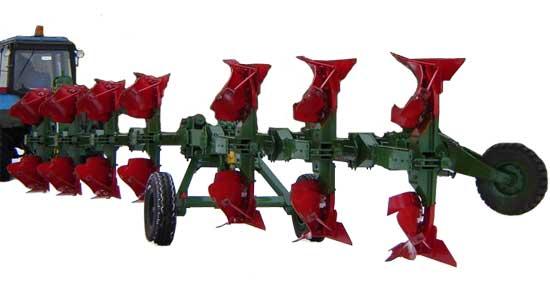 Плуг 7-8-ми корпусной полунавесной оборотный (ППО-7(8)-40К)
