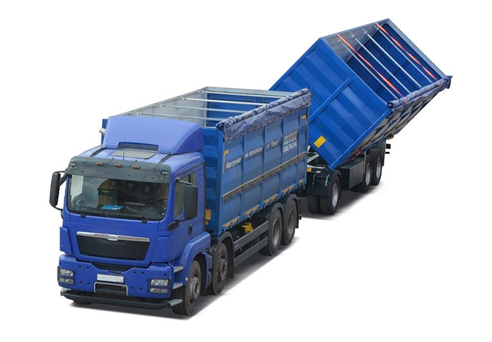 Автомобиль-зерновоз (Тонар-6328)