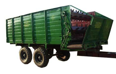 Кормораздатчик тракторный (КТП)