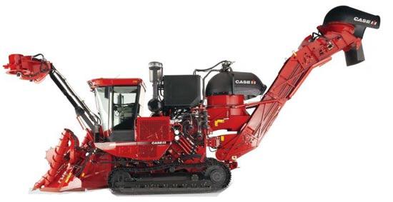 Комбайн для уборки сахарного тростника (Case IH 8000 Series Austoft)