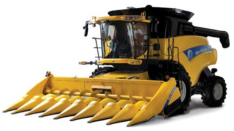 Комбайн зерноуборочный (New Holland CR 9000)