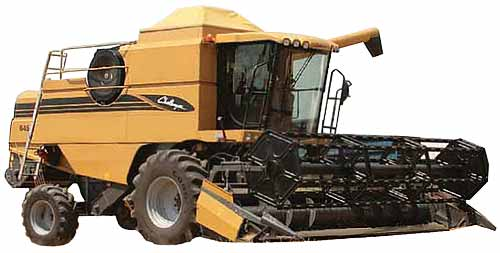 Комбайн зерноуборочный (Challenger 642-658)