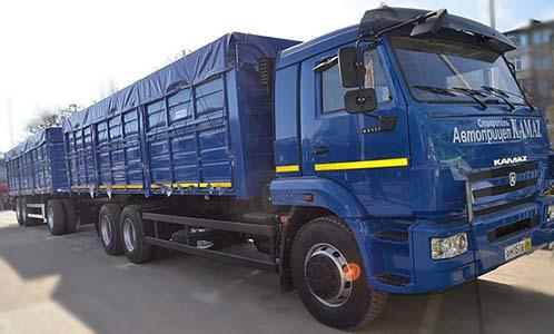 Автопоезд бортовой (СЗАП-6385 (1))