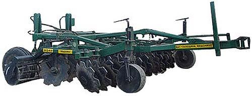 Борона почвообрабатывающая дисковая (Явдоха)