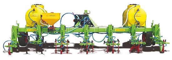 Культиватор для ленточного внесения жидких удобрений и пестицидов (КЛ 4,2)