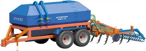 Ёмкость для перевозки и внутрипочвенного внесения жидкого навоза (Агритон)