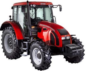 Трактор (Zetor Forterra)