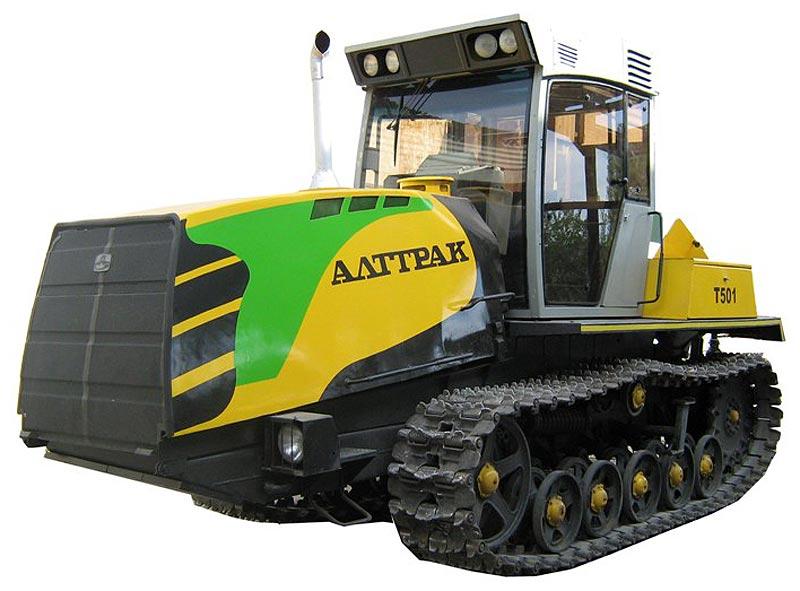 Трактор гусеничный (Т-501)
