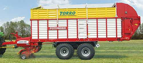 Прицеп-подборщик (Torro)